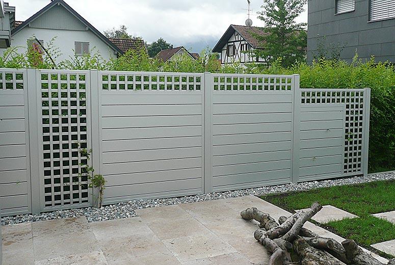 ... Zaunteam – Zäune und ~ 11364320170206_Sichtschutz Aus Aluminium